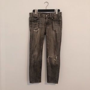 Citizens of Humanity cropped distressed jeans 27
